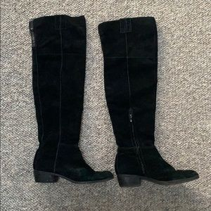 Sam Edelman suede over the knee boots